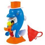 giocattolo Dabbling di spruzzatura dell'acqua dell'acquazzone del bagno del reticolo del delfino 14325222-Lovely per il capretto
