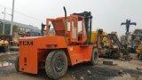 La Diesel-Isuzu-Engine Available-16ton 2004-Exported d'Initial-Orange-Peinture Japon-Font Côté-Changent de vitesse le chariot élévateur de camion de Tcm