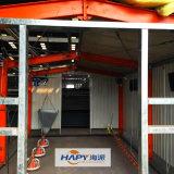 Equipo automático profesional con la casa de la casa prefabricada del bajo costo