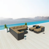La rota modular del diseño real curvó el conjunto de la esquina del sofá del salón