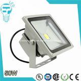 imperméable à l'eau Sécurité extérieure Lumière d'inondation 100-240V AC 50W Projecteur LED