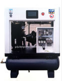 Air Tank (8 Bar)のJufeng Screw Air Compressor Jf-10at Direct Driven 10HP/7.5kw