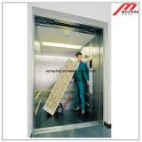 Solo elevador de carga de la entrada con la hoja pintada
