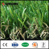 O melhor fio artificial bem escolhido da grama do verde 25mm dos produtos para o jardim