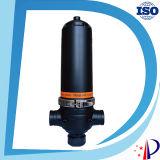 滴りの用水系統の自動後流水自浄式水清浄器の水処理自動ディスク版フィルター