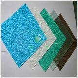 Feuille gravée en relief de polycarbonate pour la décoration
