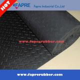 Schwarzer grauer Diamant-Gummifußboden-Matten-/Diamant-Laufflächengummi-Matte