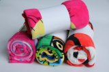 Polyester 100% Super Soft Coral Fleece Blanket mit Dora/Baby Blanket