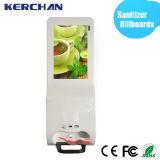 Hand Sanitizer Dispenserの19インチAndroid DIGITAL Signage