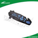 Cuchillo multi plegable de Poket de la función con los cortacircuítos de cristal
