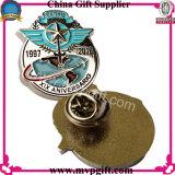 Ha annunciato il distintivo del metallo con il Pin della bandierina (m-B26)
