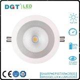 33W CRI90 옥수수 속 Dimmable LED에 의하여 내재되어 있는 반점 빛 Downlight