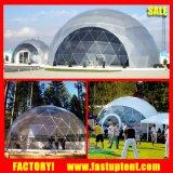 Tenda d'acciaio geodetica della cupola del PVC di evento del tubo di modo per Advedrtising