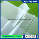 PVC Sheet, PVC Rigid Sheet di Transparent per Table Cloth