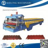 機械を形作る鋼鉄波形の屋根瓦のパネル・ボードロールを着色しなさい