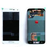 Цифрователь касания экрана галактики S5 черный I9600 G900A LCD OEM Samsung + домашний гибкий трубопровод