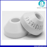 Fdx-B RFID Electronic Round Ear Tag с Tk4100 Em4305