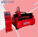 Kohlenstoffstahl-Gefäß-Faser-Laser-Ausschnitt-Maschine des Edelstahl-500W-3000W für Verkauf
