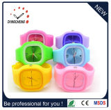 Silicone Strap Waterproof Jelly Luminous Plastic Watch (DC-1048)