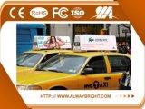 Abt das im Freienbekanntmachen P6 imprägniern Oberseite LED-Bildschirmanzeige des Taxi-IP65