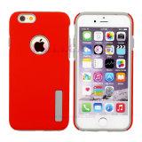 caja protectora combinada del teléfono móvil del color sólido 2in1 para Samsung/iPhone/Huawei/LG/Moto