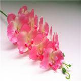 A orquídea artificial branca de venda quente 53 da neve da altura de 2014 130cm sae 4 flores da árvore artificial 0030-0032