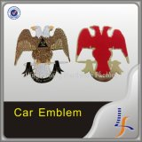 De naar maat gemaakte Auto Gesteunde Emblemen van het Metaal van het Embleem met 3m
