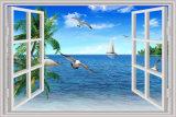 Peintures murales de papier peint du vinyle 3D de paysage pour la décoration à la maison (YL-C577)