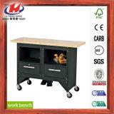 Vector de trabajo de madera de la oficina resistente