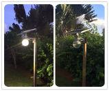 12W tout dans une lumière solaire de jardin avec l'éclairage de DEL