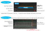 Hoher-Reliable PBX System bis zu 256 Extensions D256A-24256 Central Exchange