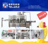 Linha de enchimento máquina do suco plástico automático Turnkey do frasco