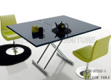 Tabella pranzante quadrata moderna ultima per sala da pranzo domestica (NK-DT265-1)