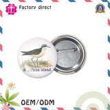 Alrededor de SGS Factory Promotional Item Tin Button Badge de 58m m