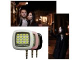 Android pour iPhone Cellulaire iPad Rechargeable Flashlight 16LED Selfie Shooting Fill Light