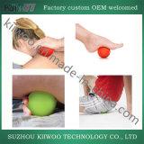 Yoga de Fitball de la bola del masaje del caucho de silicón