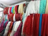 Vestido de casamento Strapless frisado A201729 de Tulle dos vestidos nupciais do laço