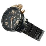 Kundenspezifische Form-keramische Dame Armbanduhr Lw-03