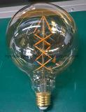 Lámpara de filamento del LED G125 7W E27/B22