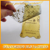 Изготовленный на заказ бумажная ткань маркирует (BLF-T090)