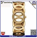 Yxl-760 2016 Venta al por mayor de armadura de cuarzo Wrap alrededor de la pulsera de cuero Moda Señora China Reloj Mujer Reloj