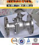 """Ss304/316 CF8m 4 """" Zoll Stiainless Stahlkugelventil-Preis"""