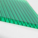 100% rohes Lexan Baumaterial-Zwilling-Wand-Polycarbonat-Blatt