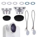 3 en 1 Magnetic Fisheye Widel Angle Macro Lens