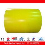 Bobina 1005 Prepainted amarela do soldado PPGI do mel de Ral