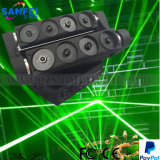 Verde de rayo láser de luz principal móvil