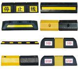 Reflektierende Fahrstraße-Sicherheits-industrieller Gummigeschwindigkeits-Stoß