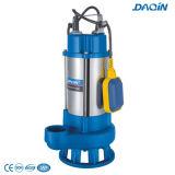 V bombas inoxidáveis de aço do submarino da água de esgoto