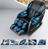 2016의 섹시한 새로운 호화로운 L 모양 4D 가득 차있는 바디 안마 의자