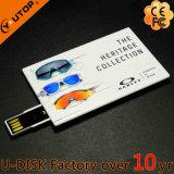 선전용 선물 주문 로고 신용 카드 USB2.0/3.0 플래시 메모리 드라이브